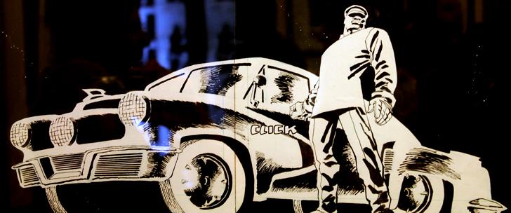 Exposition Frank Miller à Paris