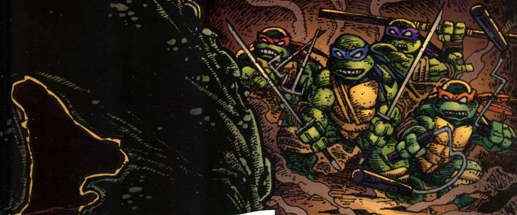 Trade Paper Box #90: Les tortues ninja T4 – les péchés du père