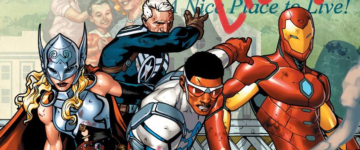 Avant-Premi̬re VO: Review Avengers Standoff РAssault On Pleasant Hill Alpha #1