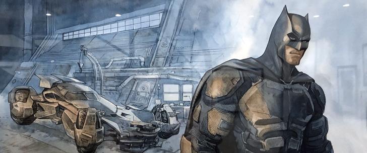 Marini : l'exposition Batman
